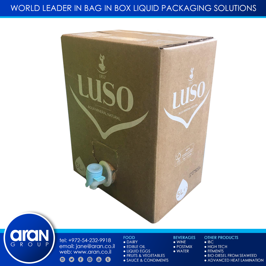 Luso Natural Mineral water